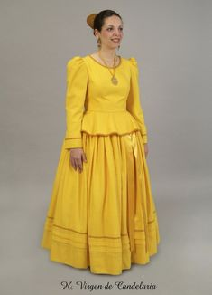 European Dress, Canary Islands, Dress Up, Dresses With Sleeves, Costumes, Summer Dresses, Long Sleeve, Vintage, Style