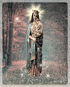 Hail Holy Queen, Mama Mary, Holy Mary, Madonna And Child, Blessed Virgin Mary, Religious Icons, Orthodox Icons, Holy Night, Blessed Mother