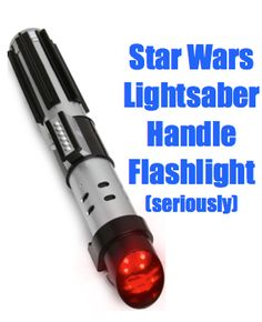 Father's Day Star Wars Gifts for Him:  Star Wars Lightsaber Handle Flashlights @ Think Geek