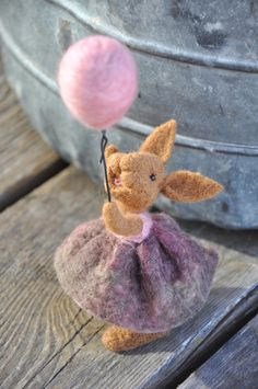 Adorable Stiff Felt Bunnies and Chicks with Adhesive Backs 64 Pieces