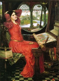 John William Waterhouse - Lady Of Shalott