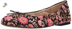 Sam Edelman Women's Felicia 3, Black/Pink Multi, 7 M US - Sam edelman flats for women (*Amazon Partner-Link)