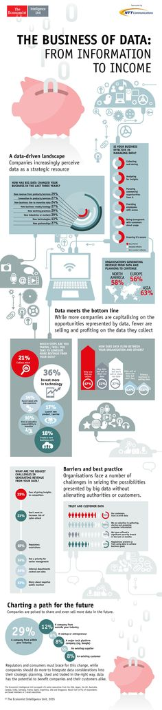 The Business of Data Infographic-From Information to Income