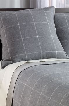 Nordstrom at Home 'Fireside' Flannel Euro Sham available at #Nordstrom