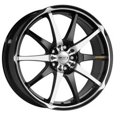 BLACK DIAMOND CUT DOTZ SHURIKEN alloy wheels #vw #bmw #audi #alloy #wheels #rims http://www.turrifftyres.co.uk
