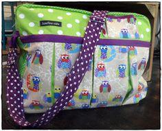 Eulenausflug Retro, Bunt, Diaper Bag, Vintage, Fashion, Moda, Fashion Styles, Diaper Bags, Mothers Bag