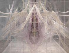 David Altmejd, Le ventre (detail), 2012, Plexiglas, resin, thread, metal wire, acrylic paint, acrylic gel, epoxy clay, coconut shells, 244.5 x 168 x 291.5 cm, 96 1/4 x 66 1/8 x 114 3/4 ins