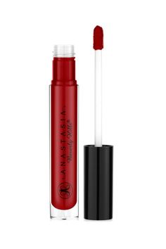 Anastasia Beverly Hills Lip Gloss in Petal is a gorgeous red color. ABH glosses are known to be so opaque, you won't even miss your liquid lippie.