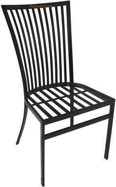 """A hacienda forged iron chair for veranda, rustic patio and garden. It is hand crafted in black iron, rusted and natural finishing. Forged Iron Chair """"Hacienda"""" by Rustica House. Painted Dining Chairs, Dining Chairs For Sale, Accent Chairs For Sale, Antique Dining Chairs, Comfortable Dining Chairs, Black Dining Chairs, Farmhouse Dining Chairs, Dining Chair Slipcovers, Rattan Chairs"""