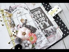 My Prima Planner Episode March 2017 with Bona Rivera-Tran See how you can create an interactive element in your planner using the My Prima Planner die set and Julie Nutting Parisian die #plannerlove #julienutting #dolls