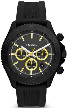 CH2870 - Authorized Fossil watch dealer - MENS Fossil RETRO TRAVELER, Fossil watch, Fossil watches