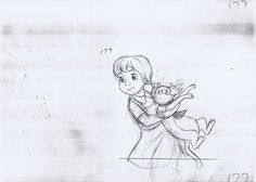 Penny & Rufus - Ollie Johnston - The Rescuers - © disney