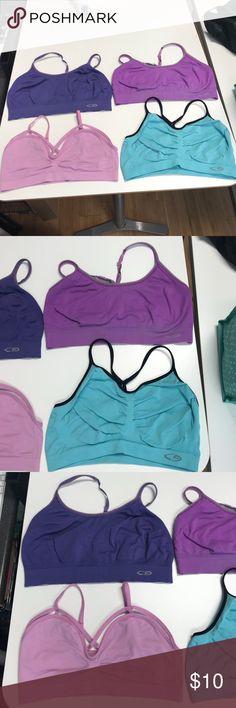 Champion sports bras! Women's champions sports bras and a bralette Champion Intimates & Sleepwear Bras