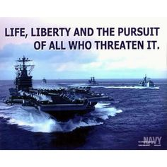 Life, Liberty, and the pursuit of all who threaten it
