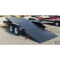 New 18' 7000 lbs Steel Floor Car Hauler Tilt Bed Utility Trailer | 18TILTBED | $2,899.00