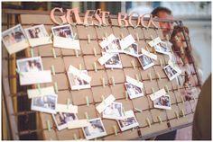 Polaroid Gästebuch