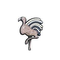 Flamingo brooch | $60 | #UnderOurSky Flamingo, Brooch, Accessories, Design, Flamingo Bird, Brooches, Flamingos, Jewelry Accessories