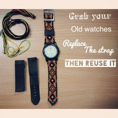 Friendship Bracelete Watch Strap
