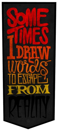 great hand drawn typography