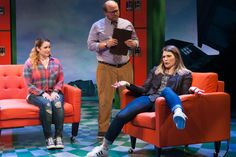"""Signature Theatre stages the pilot production of Disney's new """"Freaky Friday"""" musical. Theatre Stage, Theatre Nerds, Musical Theatre, Theater, Freaky Friday Musical, Disney S, Fangirl, Musicals, Scenic Design"""