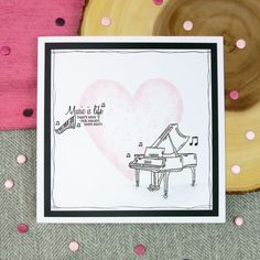 From the Say it with Music Stamp Set