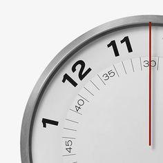 Dial Clock Wanduhr Von Gideon Dagan Und Eric Janssen Für MoMA