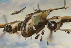 Roy Cross - Handley Page Hampden