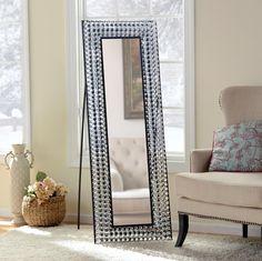 Wonderful Bling Cheval Floor Mirror Photo