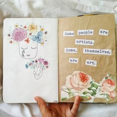 690 отметок «Нравится», 13 комментариев — Diya Gupta (@finitebrains) в Instagram: «Watercolor flowers are hard @delhidoodler08. creative block is hard too.»