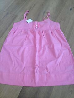 J. CREW Womens Pink Tunic Baby Doll Cami Tank Top, Size  M, NWT