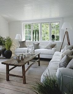 .sea grass indoors  love the neutral colors