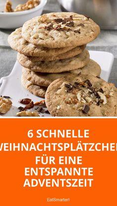 6 schnelle Weihnachtsplätzchen für eine entspannte Adventszeit | eatsmarter.de