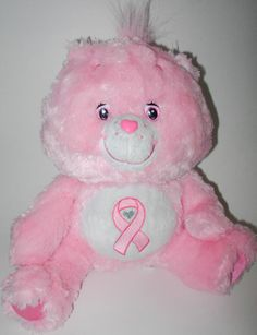 Pink Power Care Bear Breast Cancer Awareness