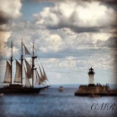 Tall ships. Canal Park
