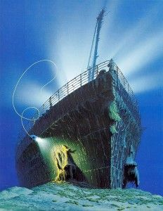 O M G I want $40K to visit Titanic on the RMS Titanic dive expedition