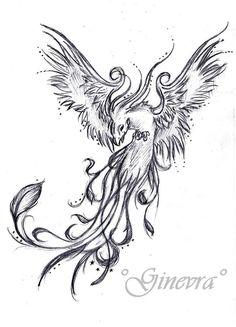 Japanese Phoenix Tattoo Designs | Phoenix Tattoo By ~GinevrA26592 On DeviantART