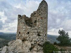 La Torre del Petrol, en el Puig Cabrer, La Riba Tarragona.