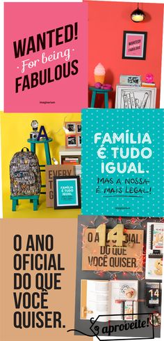 para decorar a casa - Creative Home, Creative Gifts, Art Decor, Diy Home Decor, Poster Decorations, Scrapbook, Cool Posters, Graphic Design Typography, E Design