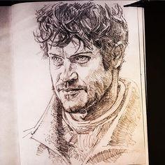 'Let's play a game' #gameofthrones @_iwanrheon as Ramsay Bolton  #sketch #sketchbook  #handdrawn #illustration  #petermckinstry #pencil #drawing #pencilart  #artwork  #fanart #draw #creative #portrait #draw #creative  #sketchaday  #dailysketch  #dailydrawing #draweveryday #arthabit