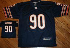 38e295c2d Chicago Bears Julius Peppers NFL Reebok On Field Football Jersey Men s 48  sewn