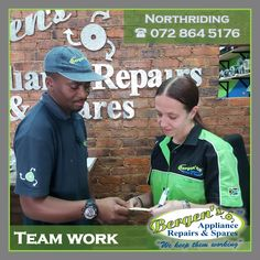 Domestic Appliance Repairs and Spares is our specialty - We keep them working. We aim to repair domestic appliances with the utmost sense of urgency and professionalism, creating community based service outlets in the form of franchises. Bergen, Appliance Repair, Appliance Parts, North Branch, Kempton Park, Working Together, Home Automation, Teamwork, Stove Oven