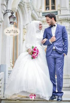 Beautiful couple, Masha' Allah! <3