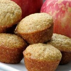 Mini apple muffins with american flag toothpicks?