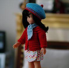 Vêtements Jupe Gilet Chapeau ET Écharpe Pour Poupée Type Chéries DE Corolle   eBay