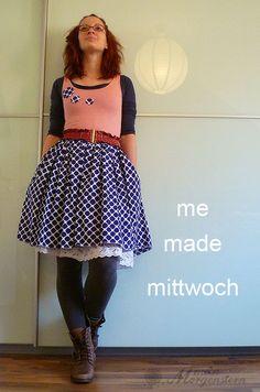 mein Morgenstern: me.made.mittwoch // gepunktet. tolles Kleid..