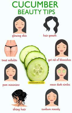 Best beauty tips using cucumber