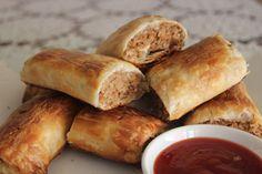 Veggie Mama: Homemade Vegetarian Sausage Rolls .....making these tomorrow wish me luck hehehe