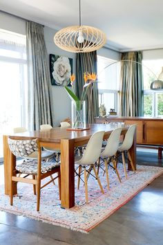 Megan and Wayne's family home in South Africa is a great example of mixing patterns, furniture and accents to create an elegant and contemporary home. It's clear that Megan and Wayne have a great eye, and you can get a similar look in your home using the shoppable links below.