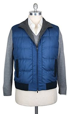 General Info Fabric Info & Styling – Color: Blue – Pattern: Solid – Fabric Content: 100% Silk – Fabric Weave: Twill – Fabric Weight: Medium – Venting: – Lining: Full – Lining Composition: 100% Cashmere – Filling: Real Goose Down –...  More details at https://jackets-lovers.bestselleroutlets.com/mens-jackets-coats/vests/product-review-for-kiton-new-blue-vest/