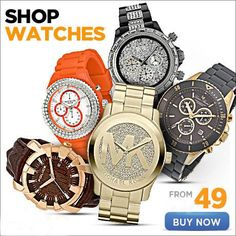 Shop our latest deals on watches from your favorite brands & SAVE.  Browse Here:bit.ly/1AOwxLT